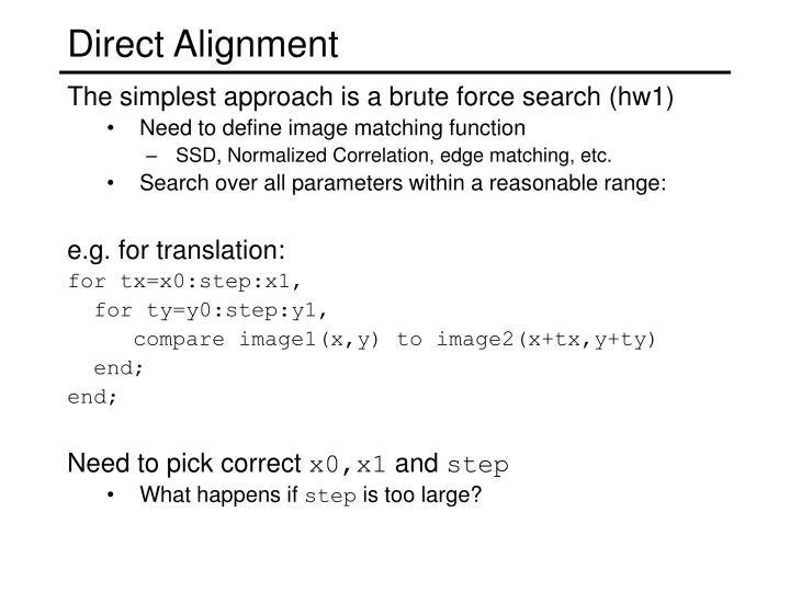 Direct Alignment