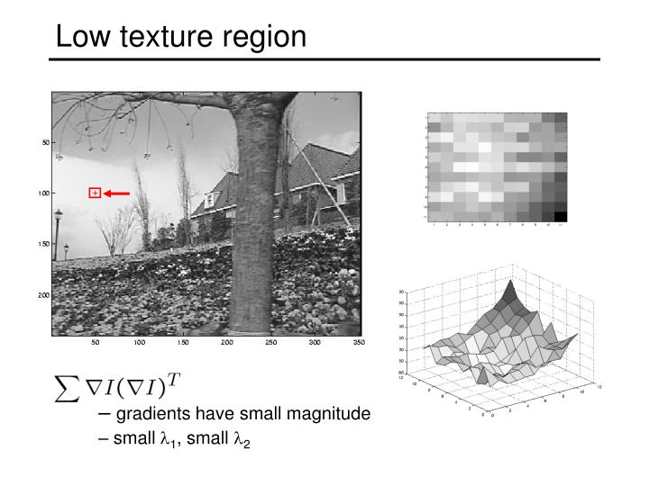 Low texture region