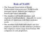 role of nahu