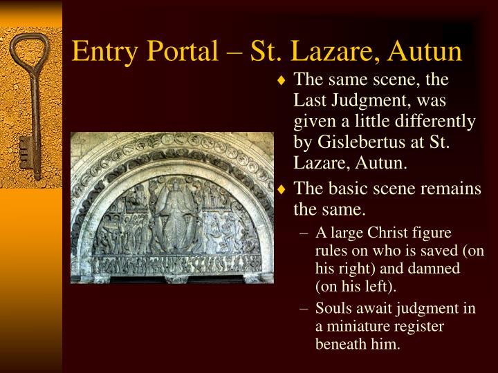 Entry Portal – St. Lazare, Autun