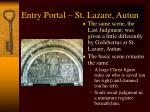entry portal st lazare autun