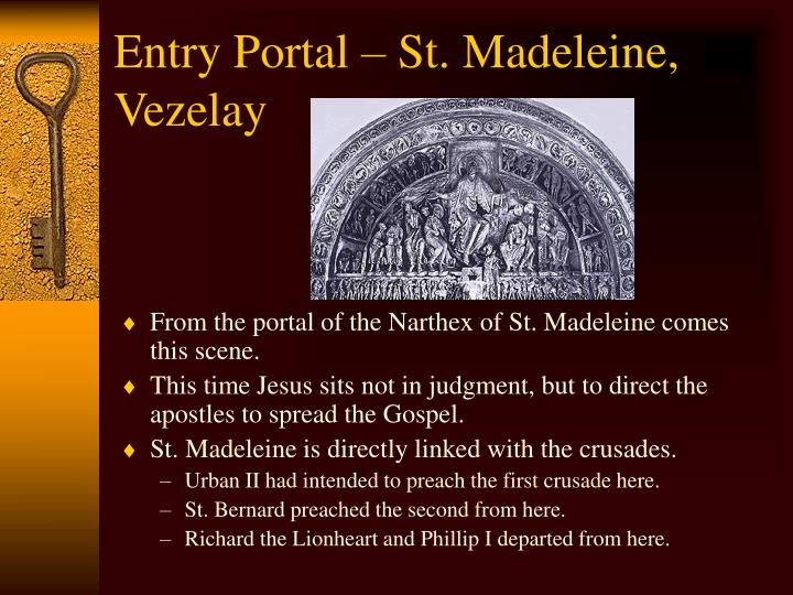 Entry Portal – St. Madeleine, Vezelay