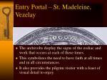 entry portal st madeleine vezelay1