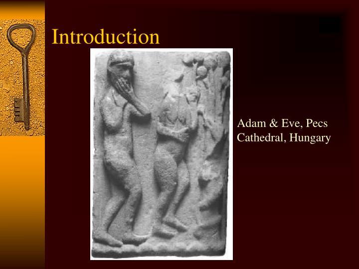 Adam & Eve, Pecs Cathedral, Hungary