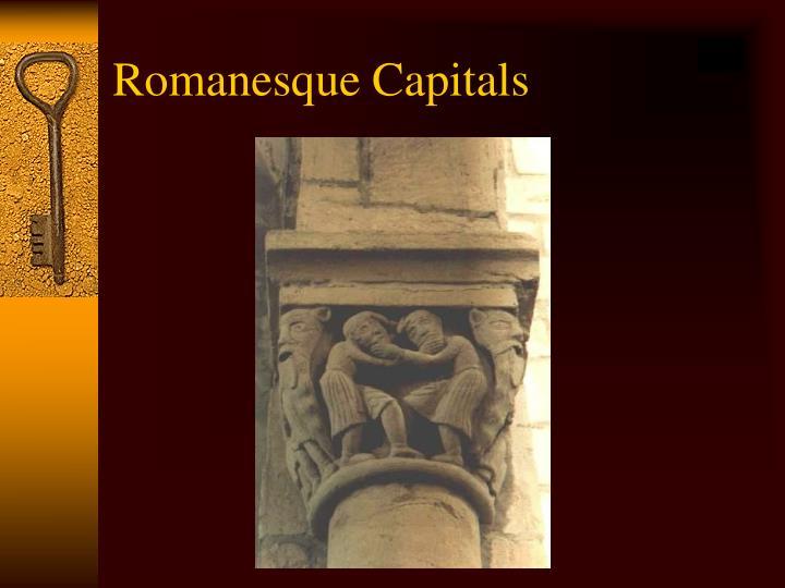 Romanesque Capitals
