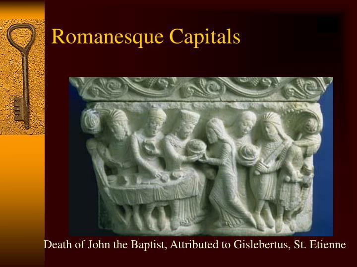 Death of John the Baptist, Attributed to Gislebertus, St. Etienne