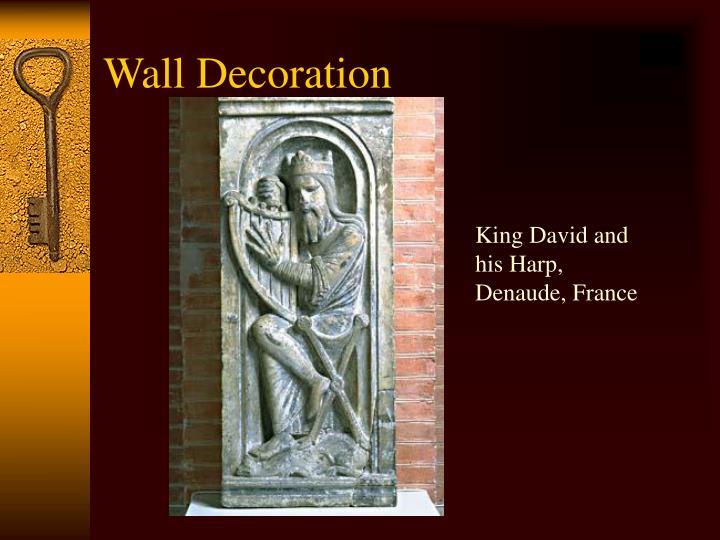 King David and his Harp, Denaude, France