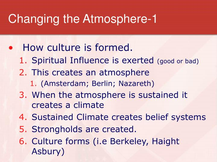 Changing the Atmosphere-1