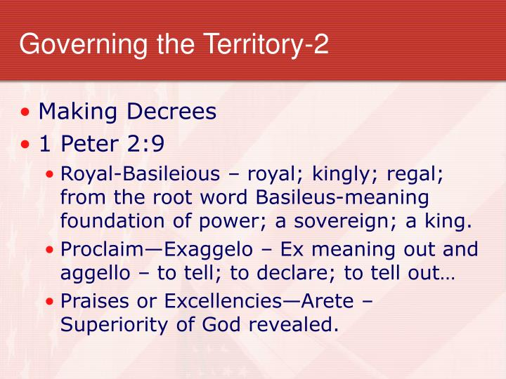 Governing the Territory-2