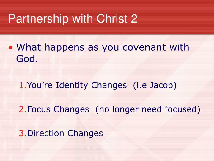 Partnership with Christ 2