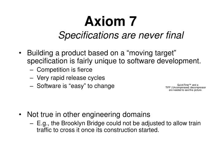 Axiom 7
