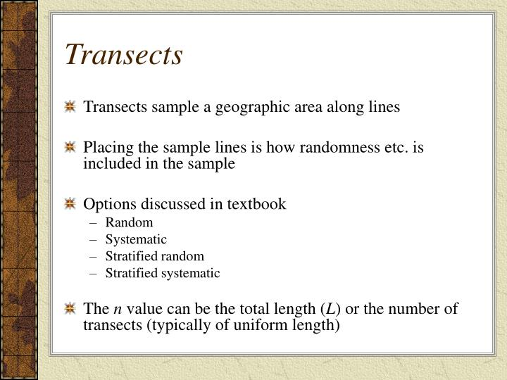 Transects