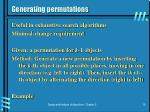 generating permutations