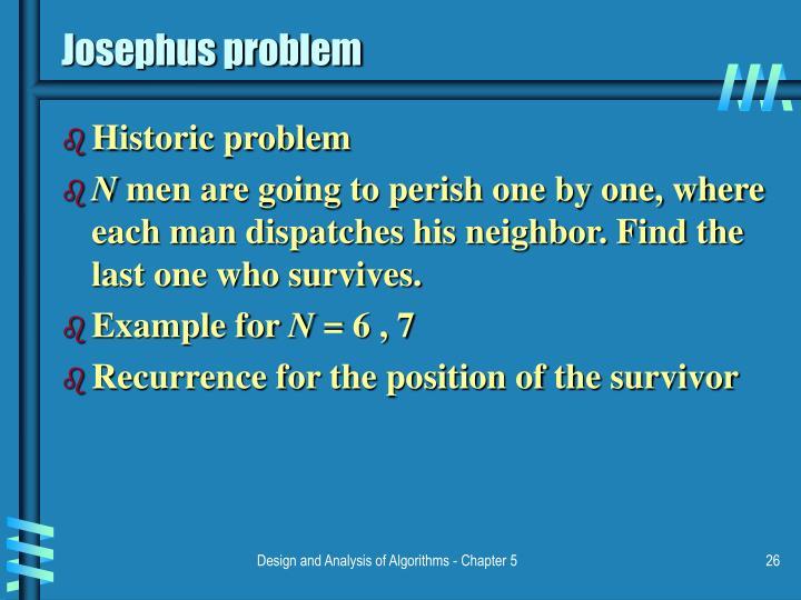 Josephus problem