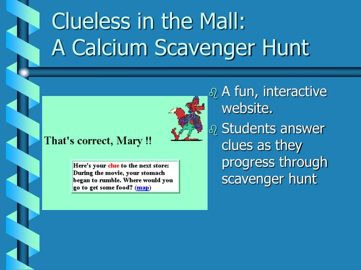 Clueless in the Mall: