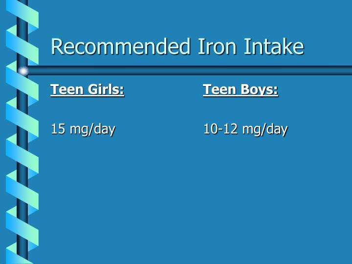 Teen Girls: