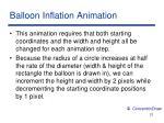 balloon inflation animation
