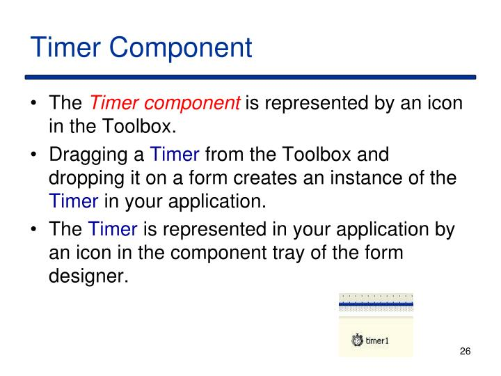 Timer Component