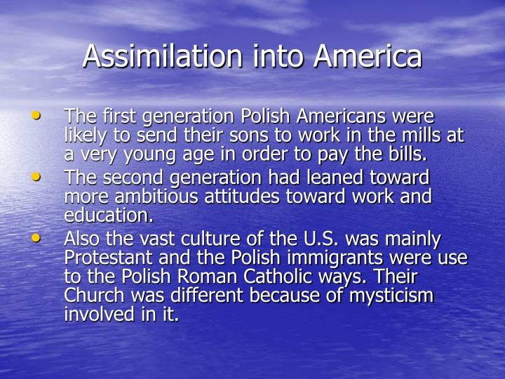 Assimilation into America