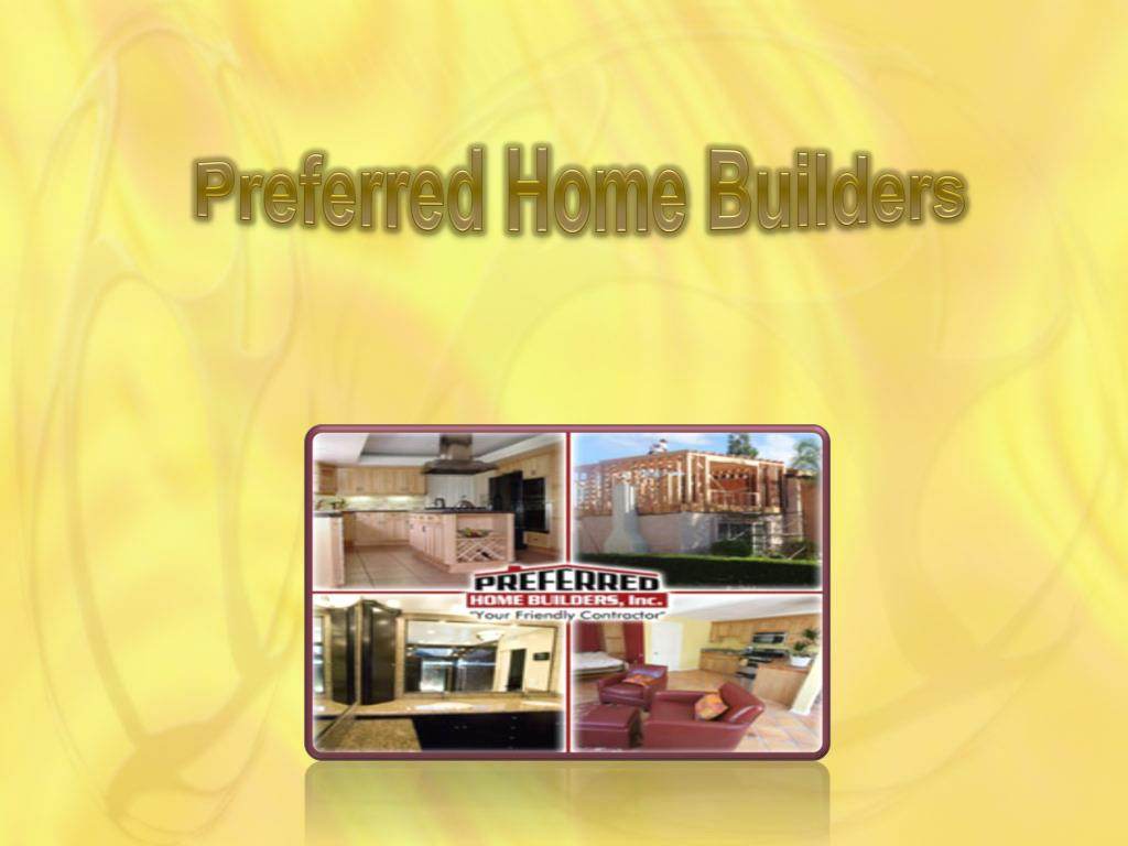 Preferred Home Builders