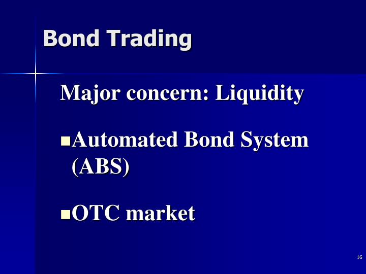 Nyse bonds trading system