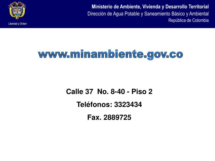 www.minambiente.gov.co