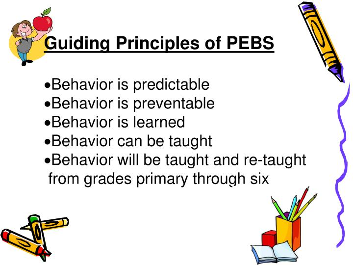 Guiding Principles of PEBS