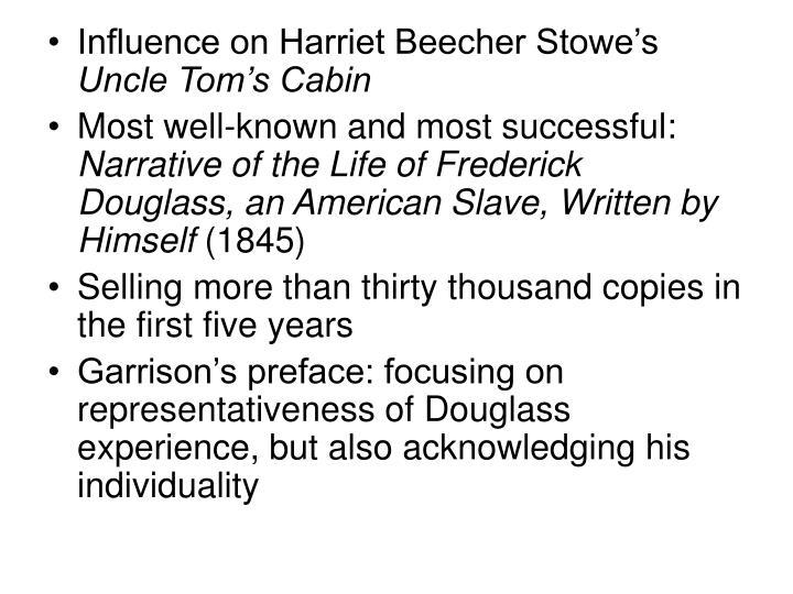 Influence on Harriet Beecher Stowe's