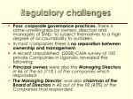 regulatory challenges2