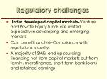 regulatory challenges3
