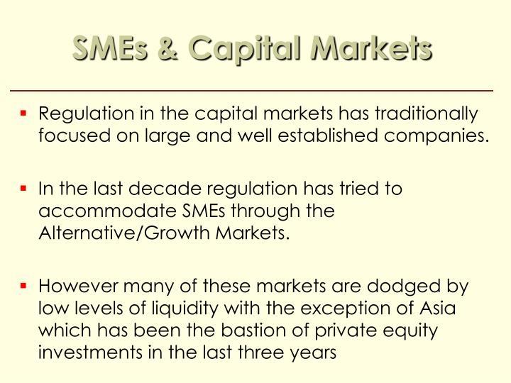 SMEs & Capital Markets