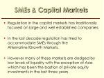 smes capital markets