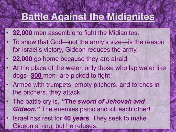 Battle Against the Midianites