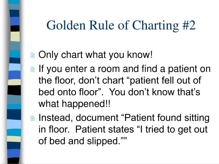 Golden Rule of Charting #2