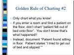 golden rule of charting 2