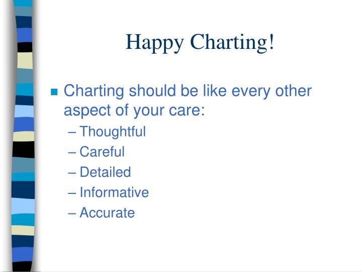 Happy Charting!