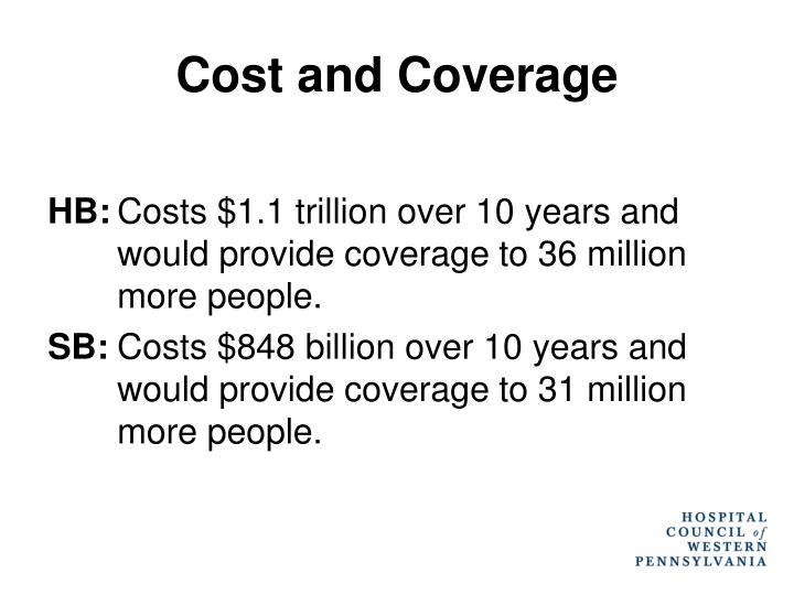 Cost and Coverage