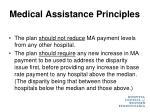 medical assistance principles