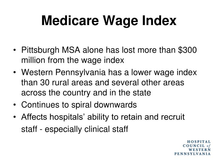 Medicare Wage Index