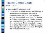 process control charts slide 11 of 37