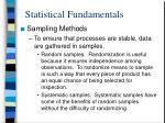 statistical fundamentals6