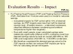 evaluation results impact1