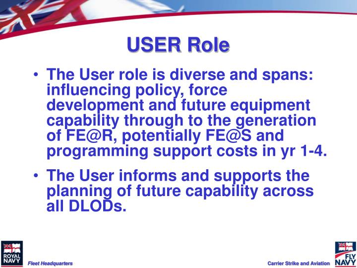USER Role