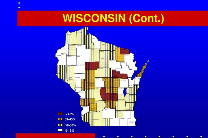 WISCONSIN (Cont.)