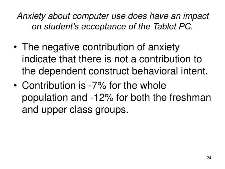 research on effect of tablet pcs The purpose of this study was to explore the effects of enhanced element- managed instruction integrated with tablet-pc-based collaborative polling on fifth .