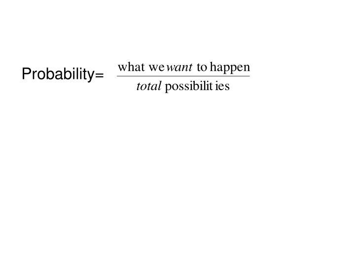 Probability=