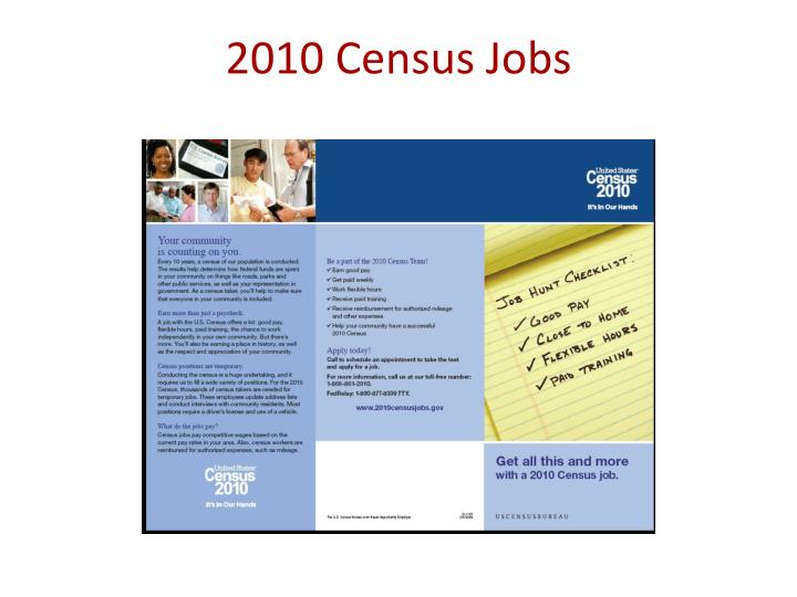 2010 Census Jobs