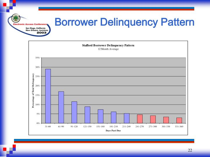 Borrower Delinquency Pattern