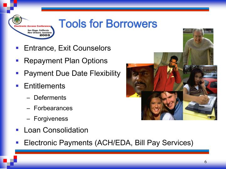 Tools for Borrowers