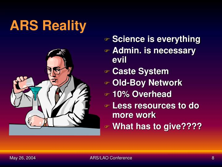 ARS Reality